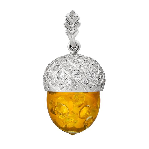 magic Acorn of Yggdrasil seed tree of life pendant