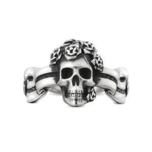spring_roses skull ring